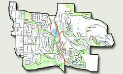 Newcastle Trails Map